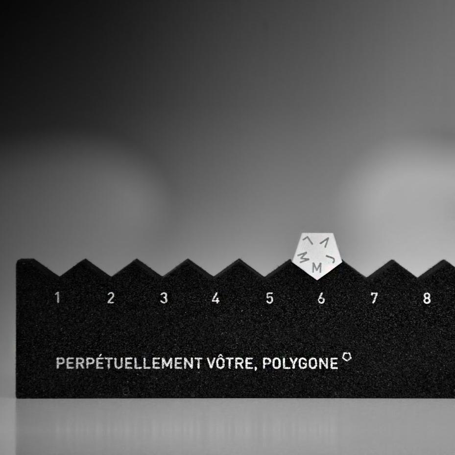 Calendrier perpétuel polygone