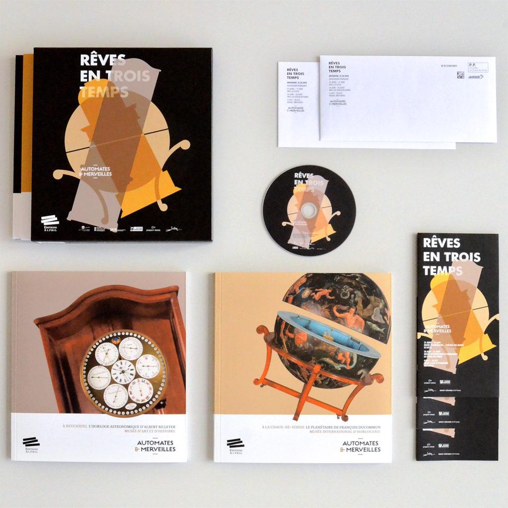 Editions Rêves en trois temps Automates et merveilles
