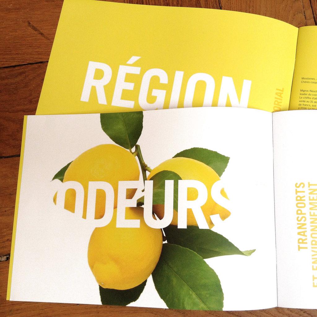Migros Neuchate Fribourg Rapport de gestion